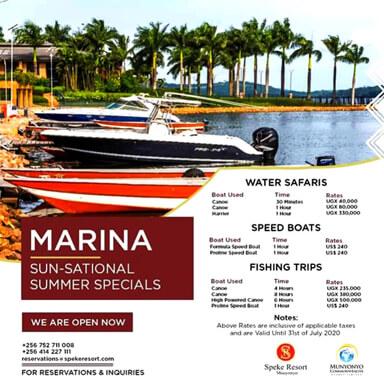Speke Resort Munyonyo -Marina
