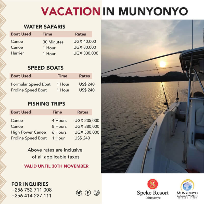 Speke Resort Munyonyo -Vacation Munyonyo offers 2020