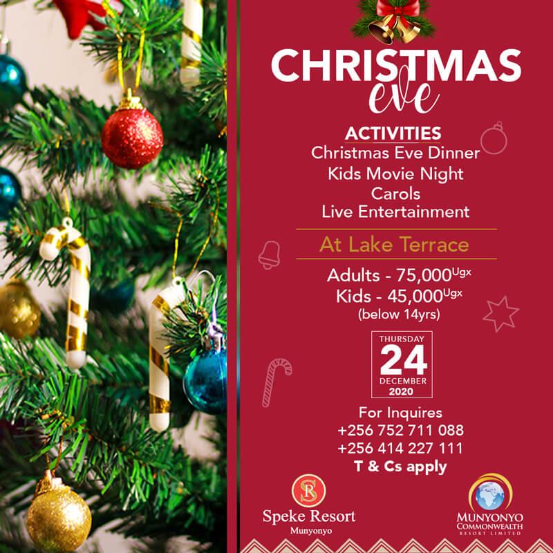 christmas-eve-speke-resort-munyonyo
