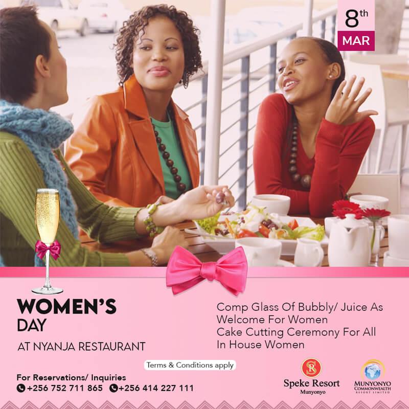 Speke Resort Munyonyo Women's Day
