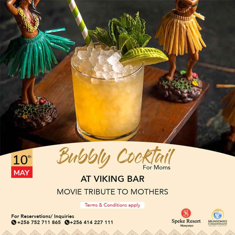 Speke Resort Munyonyo Cocktail At Nyanja Restaurant