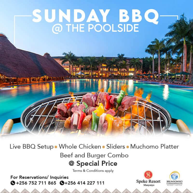 Speke Resort Munyonyo Sunday BBQ