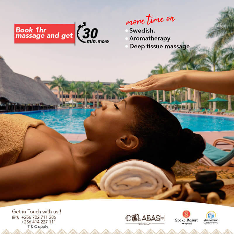 Speke Resort Munyonyo Massage