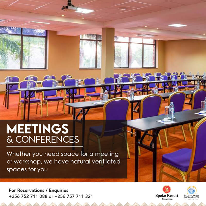 Speke Resort Munyonyo Rmadan iftar conference meetings event specials