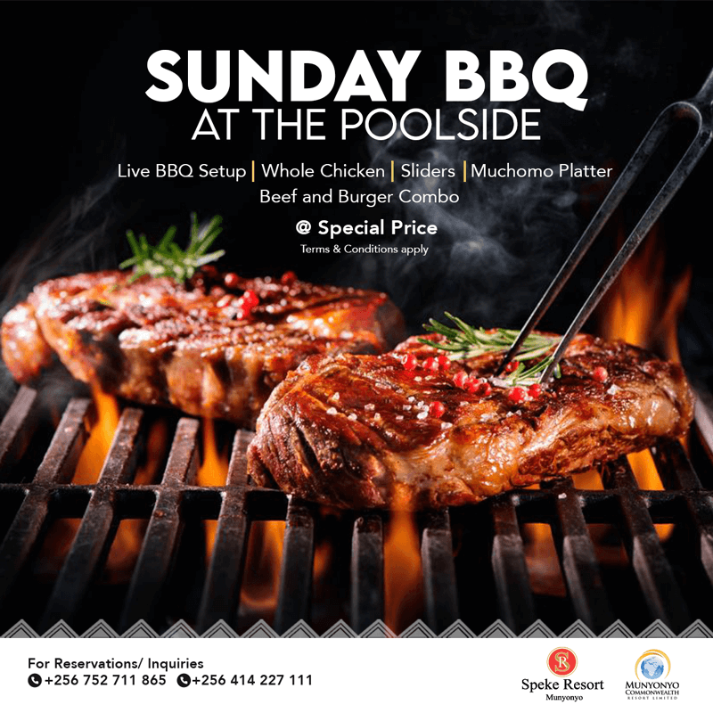 Speke Resort Sunday bbq at the pool
