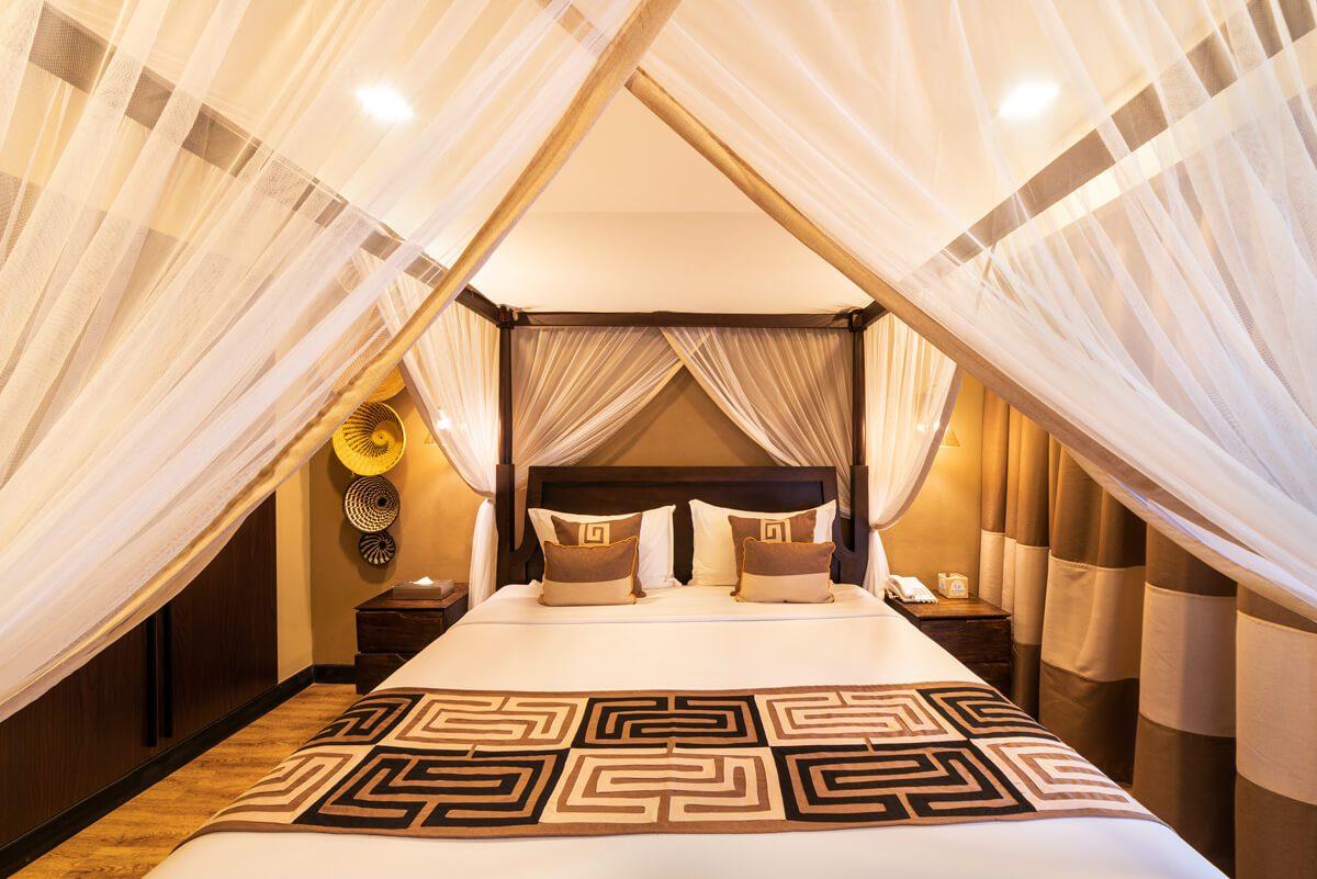 Speke Resort Munyonyo Studio-room-bedrom