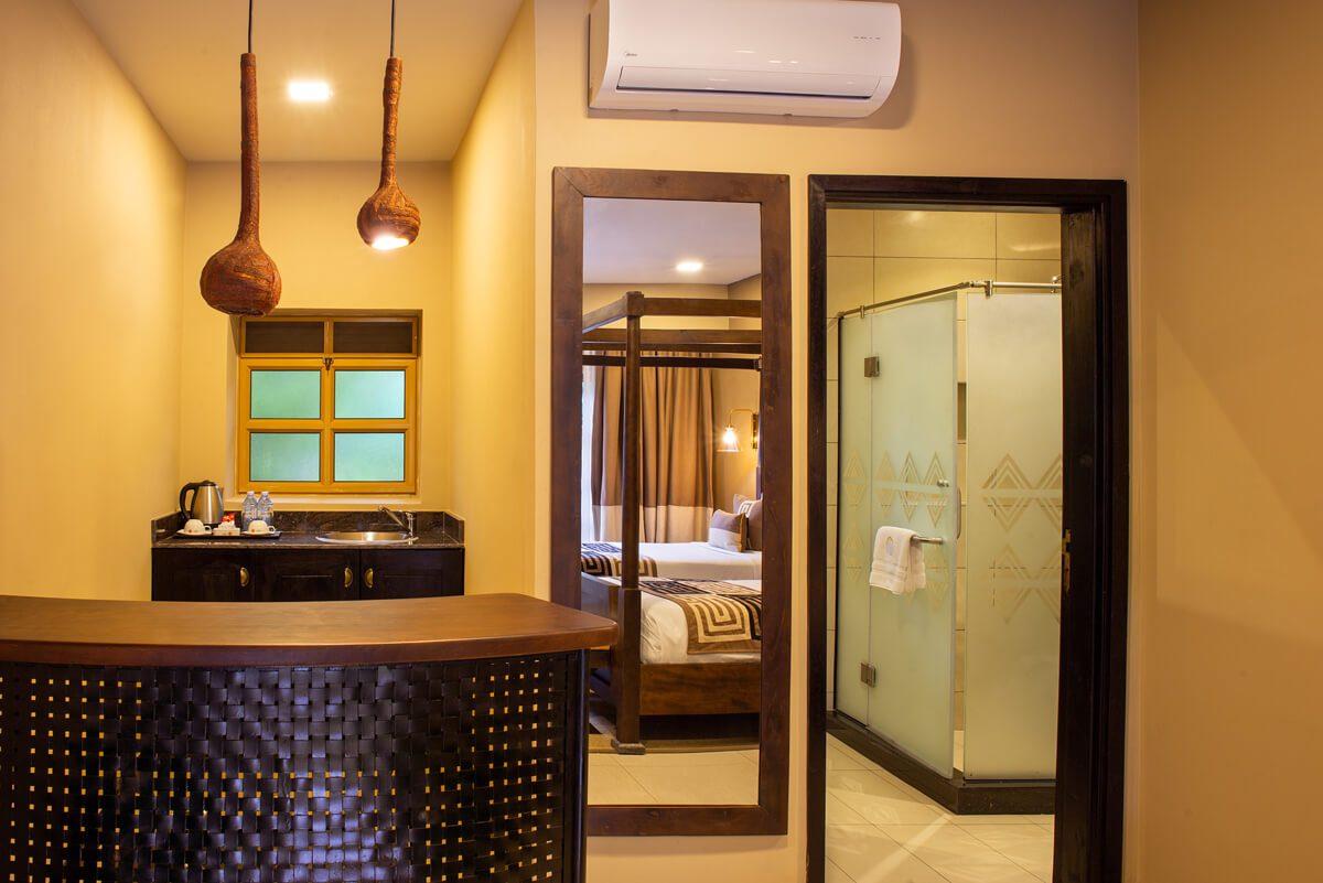 Speke Resort Munyonyo Studio room- sitting area