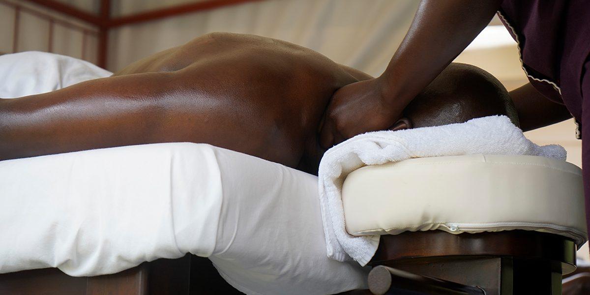 Back, Head and Shoulders Massage at speke resort munyonyo spa