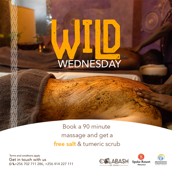 Calabash Spa and Salon Munyonyo wild wednesday offer
