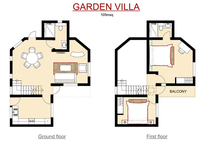 Garden Villa Layout