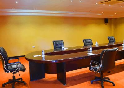 Safe meeting set-up