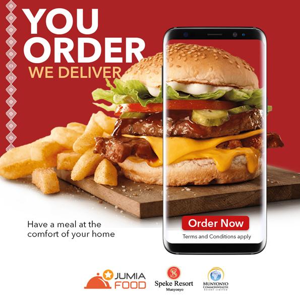 Speke Resort Munyonyo Food Delivery burger