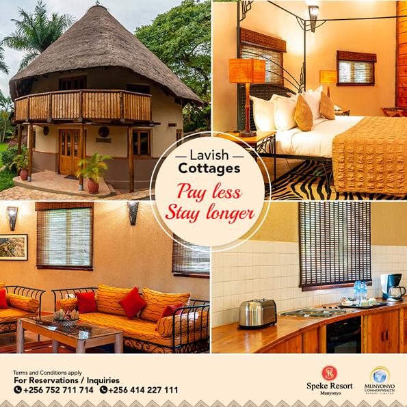Speke Resort Munyonyo special offer cottages