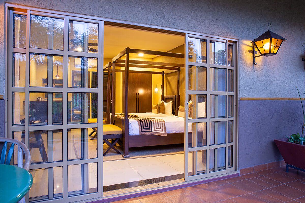 Speke Resort Munyonyo - balcony view